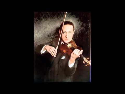 """Jascha Heifetz """"Violin Concerto"""" Beethoven"""