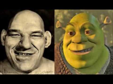 El Personaje de Shrek esta inspirado en el luchador Maurice Tillet
