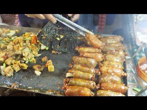 Philippines Street Food | Longganisa and Bagnet Pork