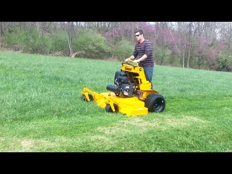 """2012 Wright 61"""" Stander lawn mower"""
