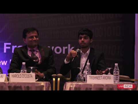 Trishneet Arora, CEO, TAC Security at Cyber Security India Conclave 2017