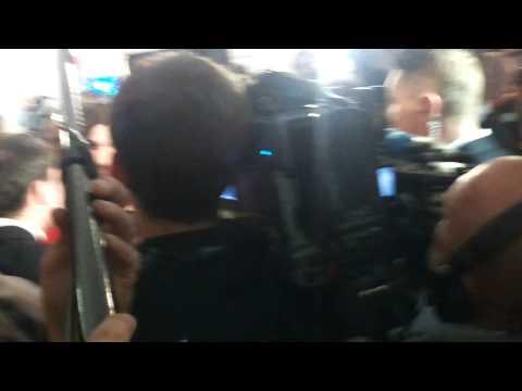 Conchita Wurst Press after Winning Eurovision Song Contest Copenhagen 2014