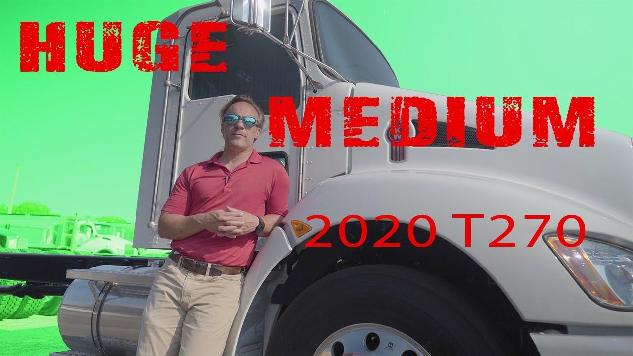 HUGE medium in the KENWORTH T270....times 3