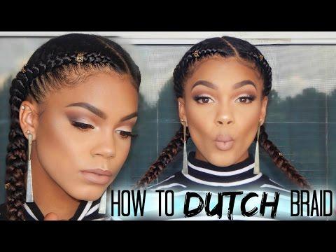 How to Dutch Braid | Kenzey Cooper