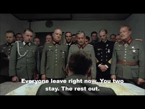 Hitler Doesn't Like San Rafael High School's Cafeteria Food