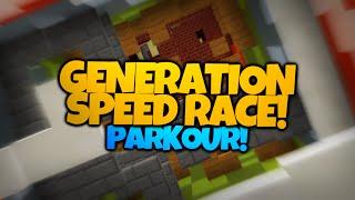 Minecraft Parkour | Generation SPEED RACE Parkour! | w/ Nooch (Minecraft Parkour)