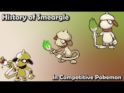 How GOOD was Smeargle ACTUALLY? - History of Smeargle in Competitive Pokemon (Gens 2-6)