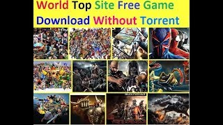 Free pc game download without torrent