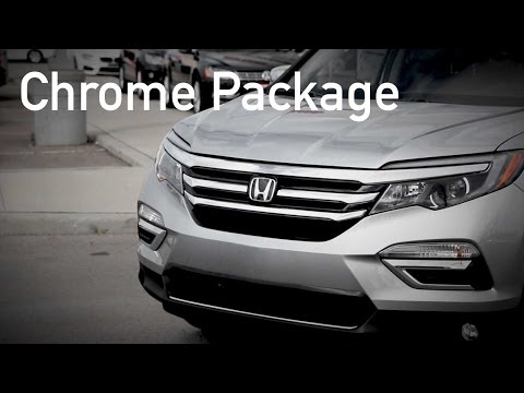 Honda Pilot Chrome Package