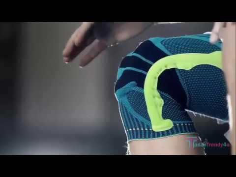 c06f1de311 Nylon Silicon Knee Sleeve - YouTube