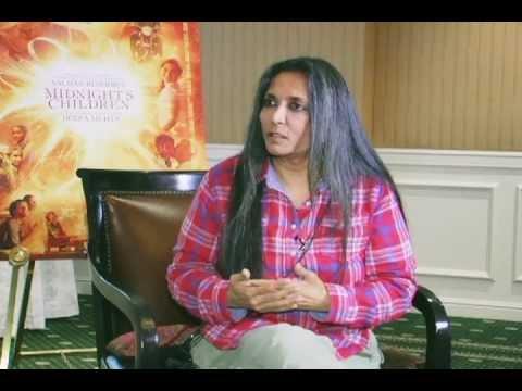 Deepa Mehta director of Midnight Children chats with Reshma Dordi of Showbiz India Television