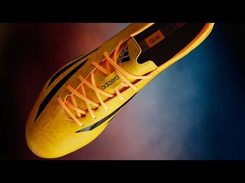 Lionel Messi's new Golden F50 adiZero IV by adidas