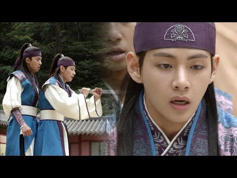 Kim Tae Hyung Saves Park Seo Jun From a Crisis [Hwarang Ep 19]