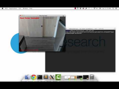Home surveillance and motion detection with the Raspberry Pi, Python