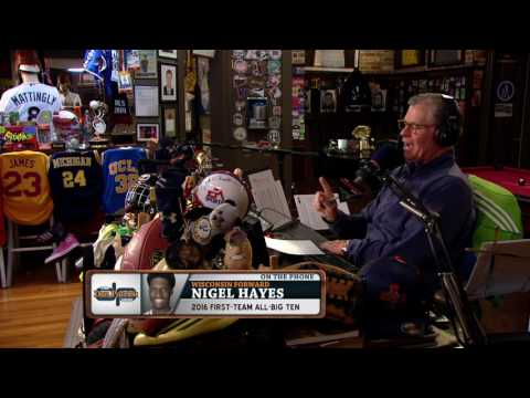 Nigel Hayes on The Dan Patrick Show (Full Interview) 3/20/17