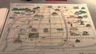 リ-ガロイヤルホテル京都 kyoto city guide map