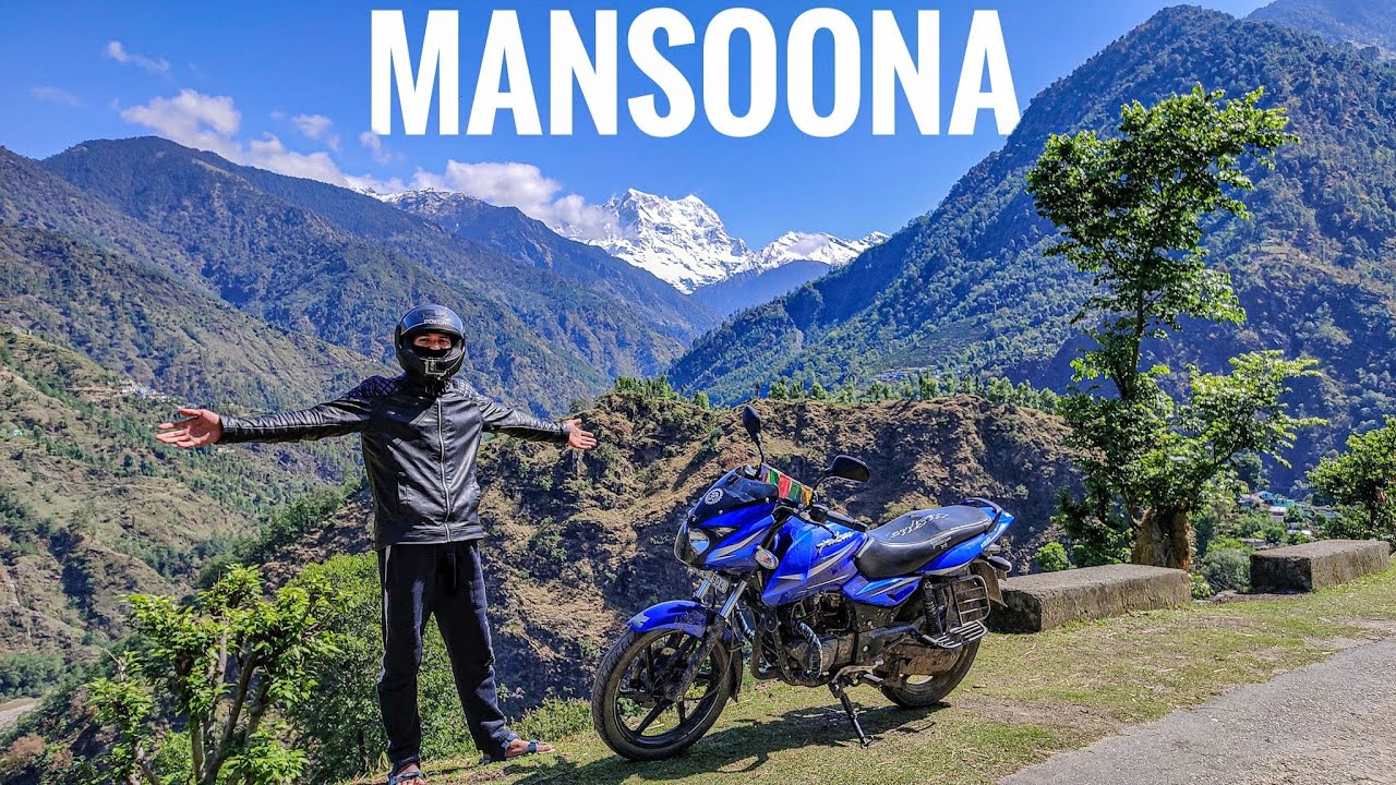 Mansoona Market and Giriya Village    Pahadi Lifestyle Vlog    By Alok Rana    Pahadi Biker