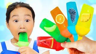 Boram em uma história engraçada com sorvete! – Fun ice cream Story