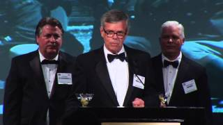 "Doug Waller's toast to the ""Disciples"": William Casey, William Colby, Allen Dulles and Richard Helms"