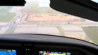 Fabian Lim - Columbia 350 Seletar Airport Landing