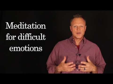 Meditation Coach: Dealing with difficult emotions