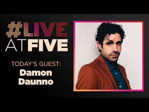 Broadway.com #LiveatFive with Damon Daunno of OKLAHOMA!