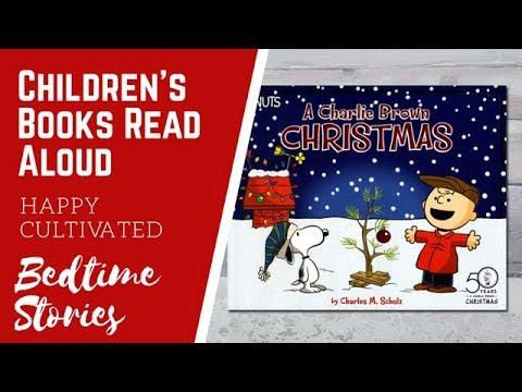 Christmas Books For Kids.A Charlie Brown Christmas Book Read Aloud Christmas Books For Kids Children S Books