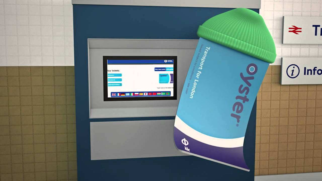 How To Buy Oyster Card From Ticket Machine