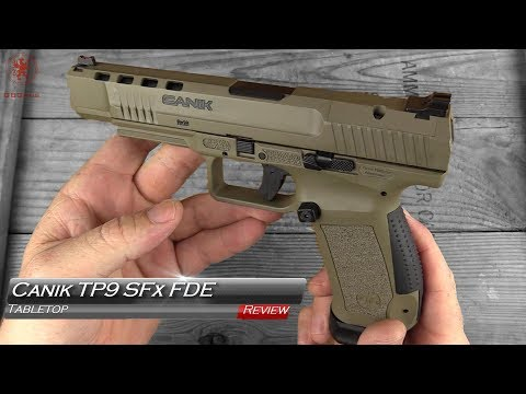 Canik TP9 SFx FDE Tabletop Review and Field Strip