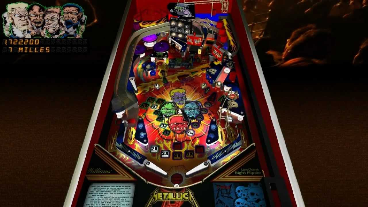 Metallica ULTRA - Future Pinball (final version)