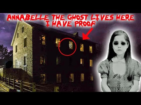 ANNABELLE THE GHOST LIVES IN THIS HAUNTED MILL // CAUGHT ON CAMERA (MUST SEE) | MOE SARGI