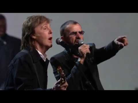 "Ringo Starr & friends -  ""I Wanna Be Your Man"" Live at the 2015 Induction Ceremony"