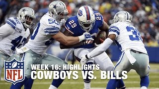 Cowboys vs. Bills | Week 16 Highlights | NFL
