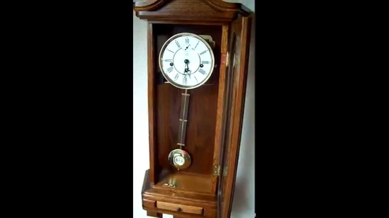 German kieninger westminster chime wall clock youtube amipublicfo Images