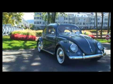 Classic Vintage 1956 Vw Volkswagen Beetle Bug Oval Window