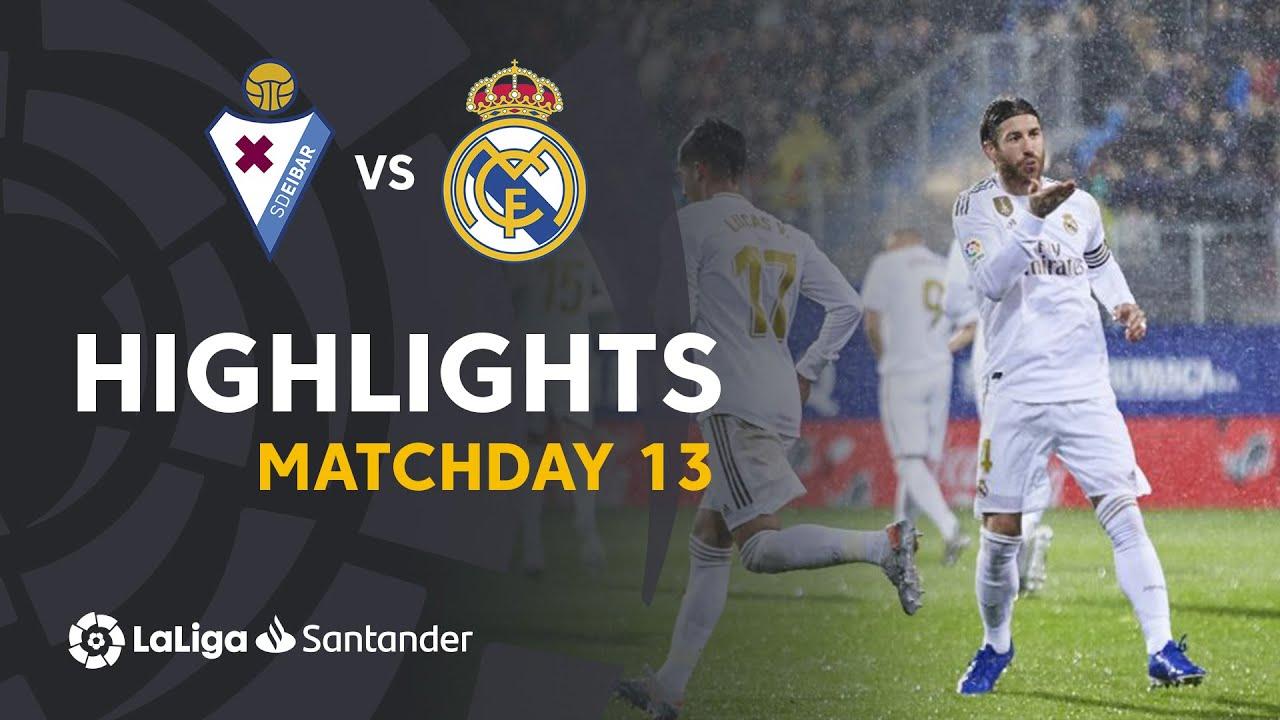 Highlights SD Eibar vs Real Madrid (0-4)