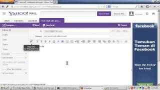 How To Send Email via Yahoo with File Attachment