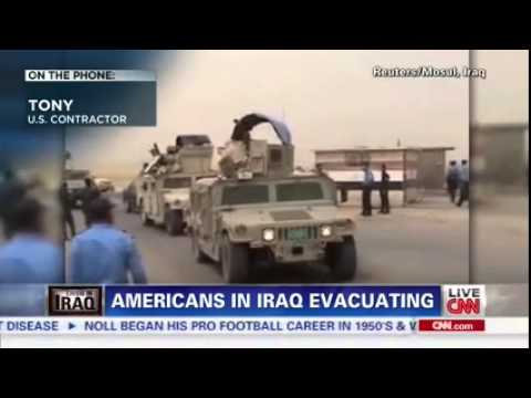 Americans surrounded by ISIS terrorists in Iraq