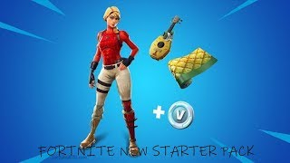 *NEW* FORTNITE LEAKED LAGUNA SKIN *STARTER PACK*...!
