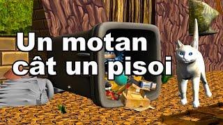 Un Motan Cat Un Pisoi - Cantece Pentru Copii - CanteceleCopii.ro