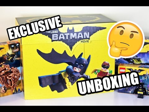 The LEGO Batman Movie SURPRISE Box UNBOXING !! NEW BATMAN ...