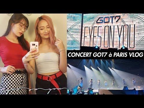 CONCERT DES GOT7 A PARIS 2018: VLOG EN FRANCAIS