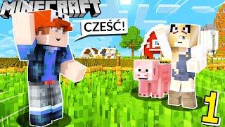 ŻYCIE NA WSI #1 - PIERWSZY DZIEŃ NA FARMIE! (Minecraft Roleplay) | Vito i Bella