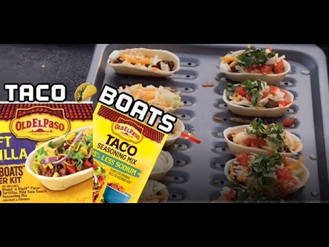 ♨️ How To Make The FamousOld El Paso Taco Boat On The Blackstone Griddle