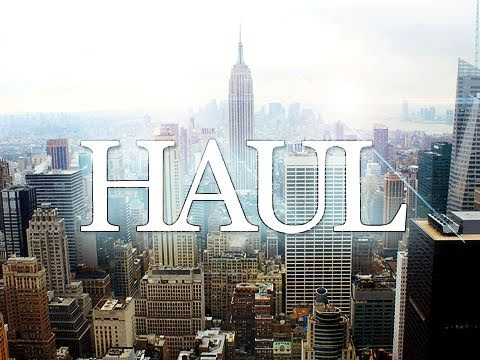Quick New York & IMATS 2011 Haul