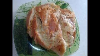 Батон, запечённый с сыром и чесноком