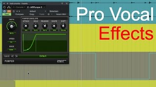 How to setup Delay and Reverb throws on Audio Tracks