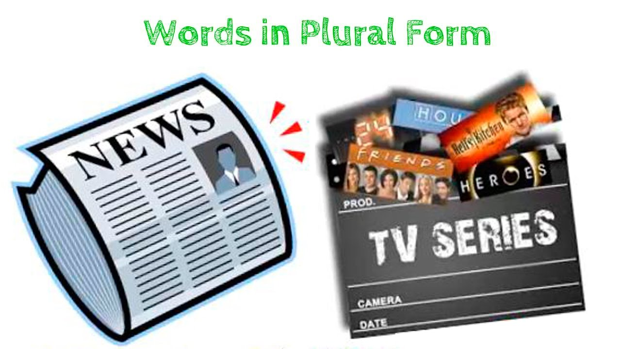 WORDS IN PLURAL FORM - YouTube