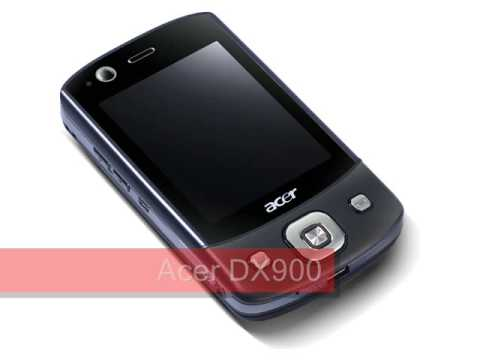 Acer DX900 / E-TEN Glofiish DX900