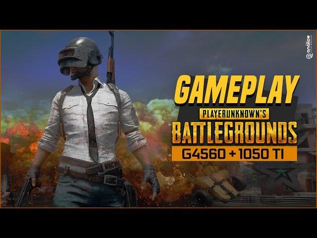 « TESTE » PlayerUnknowns Battlegrounds Intel G4560 + GTX 1050 Ti 4GB ( Dinopc Origins Black III )